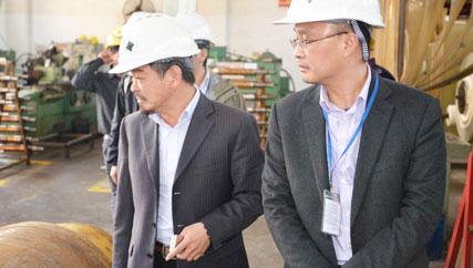 克恩里伯斯(广州)精密金属零件光临鑫发金属学习交流