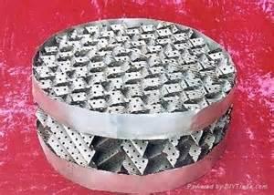 化工行业不锈钢带应用,化学填料用最多