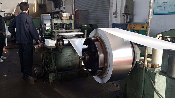 不锈钢带表面压痕的产生原因及处理方法
