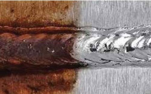 不锈钢焊缝电化学清洗
