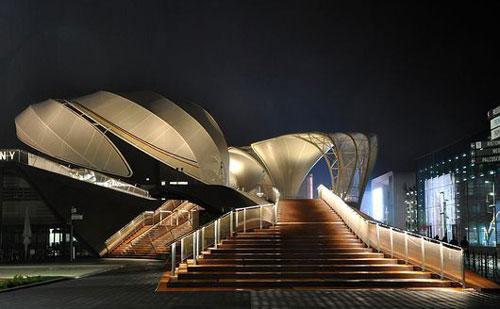 2015米兰世博会不锈钢建筑