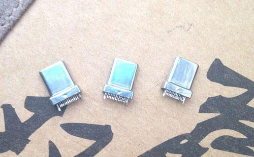 USB3.1不锈钢带制作端子