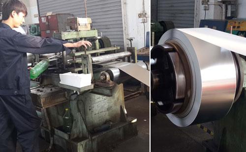 不锈钢带生产设备 重卷机
